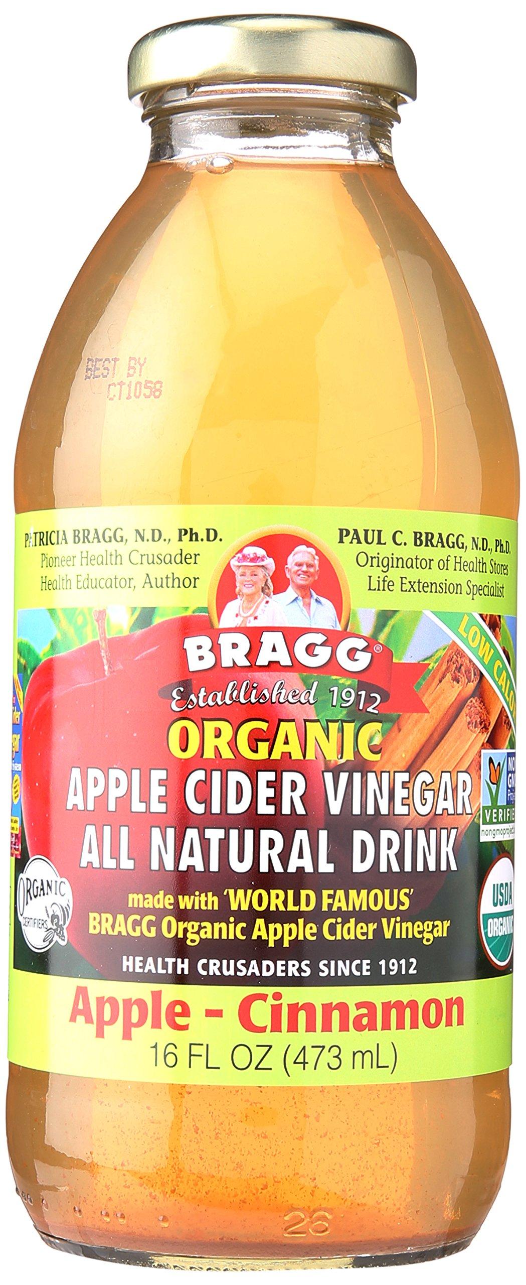 Bragg Beverage Apple Cider & Cinnamon, 16 oz