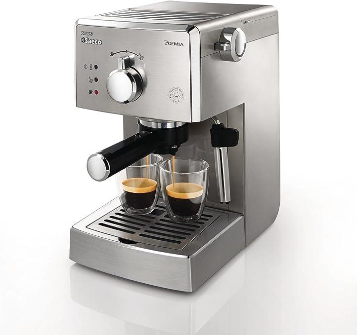 Saeco HD8327/01 - Cafetera Saeco Poemia espresso manual,950W,con ...