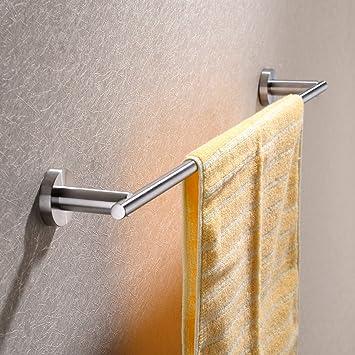 hpbge towel bar 24 inch stainless steel bathroom accessories towel rack holder storage organizer - Bathroom Accessories Towel Bars