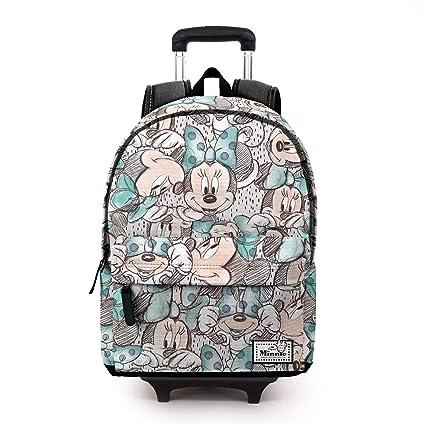 Karactermania Disney Classic Minnie Drawing-Mochila HS con Carro Mochila Tipo Casual, 51 cm
