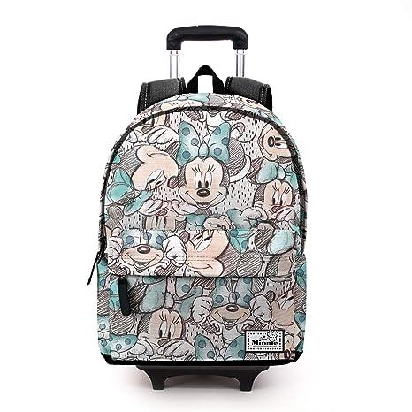 Karactermania Disney Classic Minnie Drawing-Mochila HS con Carro ...