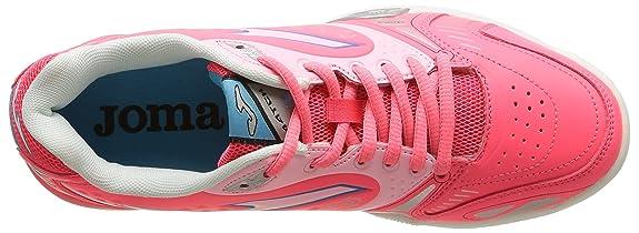Joma Match Lady - Zapatillas de tenis para mujer, color rosa (coral 507), talla 37