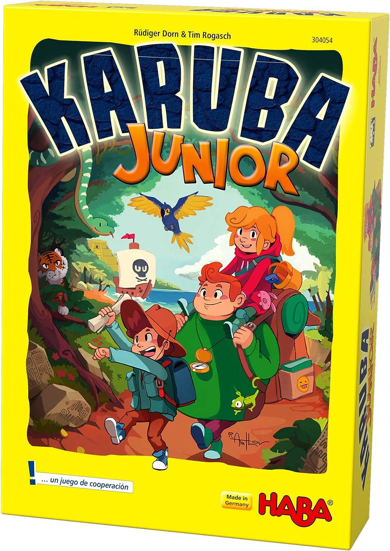 Haba- Karuba Junior - ESP, Multicolor (Habermass 304054): Amazon.es: Juguetes y juegos