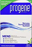 Progene® 90ct Testosterone Supplement - Doctor Recommended with Clinically Proven Testosterone Precursors - Increase Levels for More Energy, Lean Muscle & Libido - Tribulus, Tongkat Ali, L-Arginine