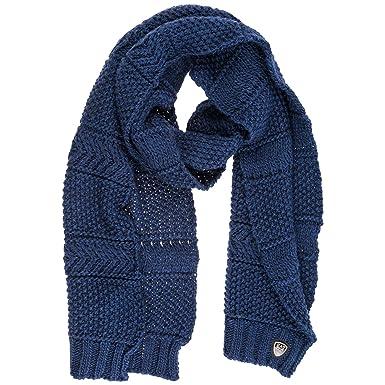 5a218665ae3a8 Emporio Armani EA7 Schal Damen Damenschal Halstuch blu  Amazon.de   Bekleidung