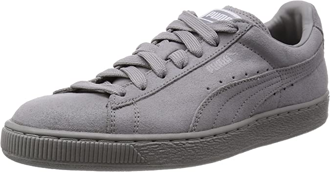 womens grey puma suede trainers