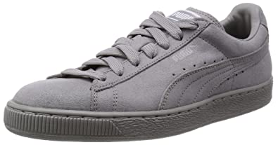 sneakers for cheap bcdd7 e22cf Puma Suede Classic Matte   Shine Womens Suede Trainers Grey ...