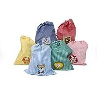 Bolsa Merienda Infantil Con Parche Decorativo. Color A