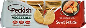 Peckish Vegetable and Rice Cracker, 100 g
