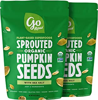 product image for Go Raw Sprouted Pumpkin Seeds 16oz (Pack of 2)