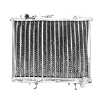 Supeedmotor L200 2.5 TD TURBO Diesel 96 - 06 Carrera de aleación de aluminio radiador: Amazon.es: Coche y moto