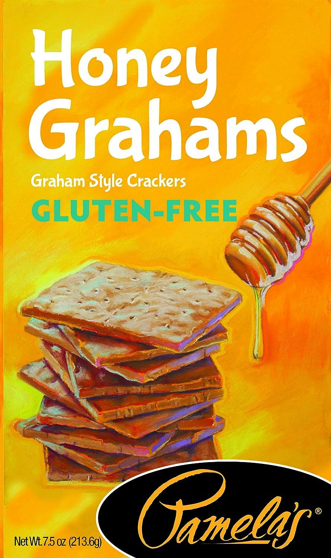 Pamela's Products Gluten Free Graham Crackers, Honey, (Pack of 6) Pamela' s 10093709620010