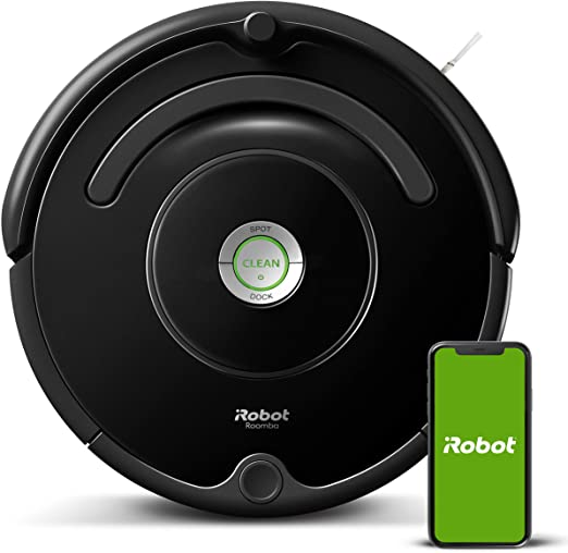 Amazon Com Irobot Roomba 675 Robot Vacuum Wi Fi Connectivity Works With Alexa Good For Pet Hair Carpets Hard Floors Self Charging