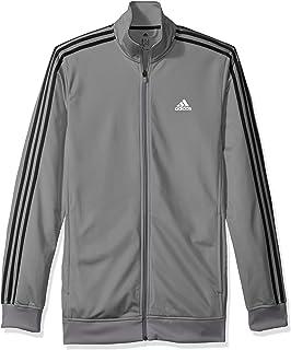 Amazon.com: adidas Mens Essentials 3-Stripe Tricot Track ...