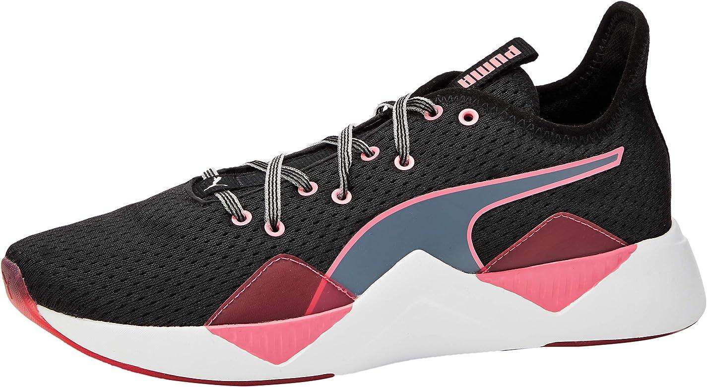 PUMA Incite FS Jelly WNS, Zapatillas Deportivas para Interior para Mujer, Negro Black/Bubblegum White, 36 EU: Amazon.es: Zapatos y complementos