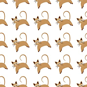 Amazon Com Home Comforts Cat Wallpaper Pattern Seamless Background