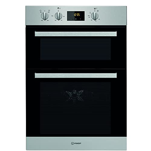 Indesit IDD6340IX Aria Electric Built-in Double Oven Stainless Steel