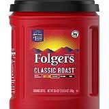 Folgers Classic Roast Medium Roast Ground Coffee, 38.4 Ounces
