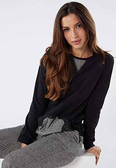 Intimissimi - Pijama de princesa Gales para mujer Black ...