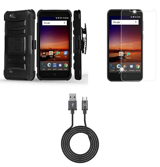 Amazon com: ZTE Blade Vantage Z839 (Verizon) - Bundle: Dual Layer