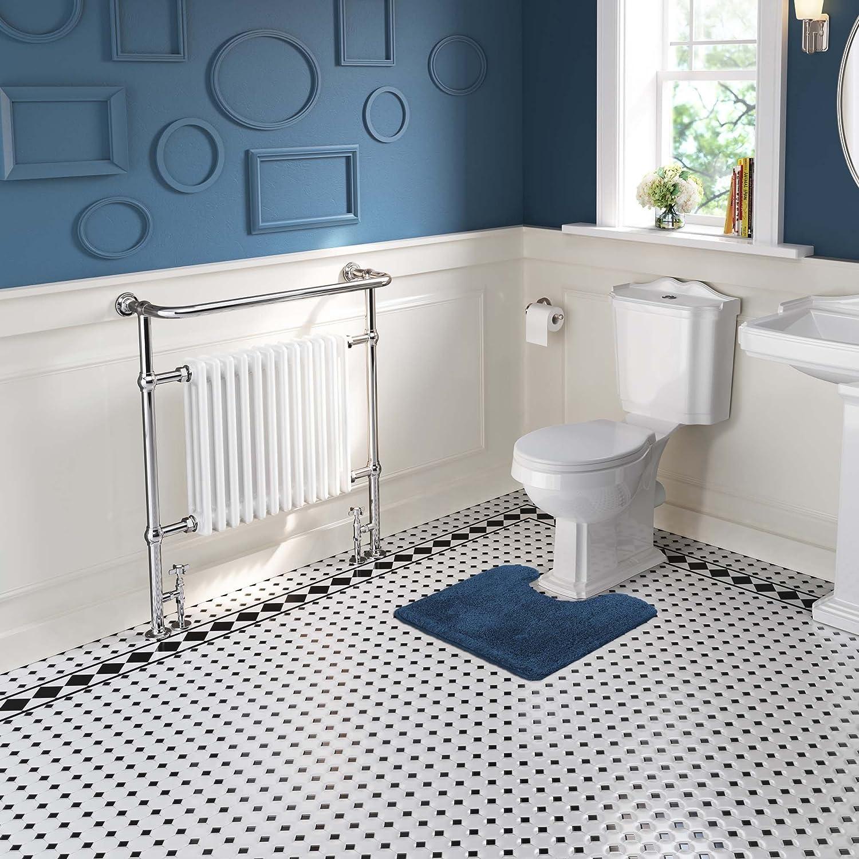 12 Column Traditional Vintage Heated Towel Rail Premium Bathroom ...