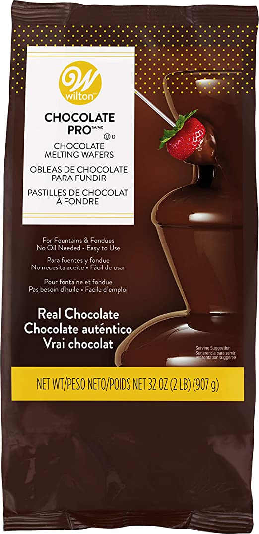 Wilton Chocolate Pro Fountain Fondue Chocolate Chocolate For Fountain Kitchen Dining