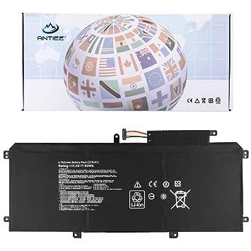 ANTIEE C31N1411 Batería para Ordenador portátil for ASUS ZenBook U Series Notebook UX305FA-USM1 U305FA U305F UX305F Series Laptop 11.4V 45Wh: Amazon.es: ...