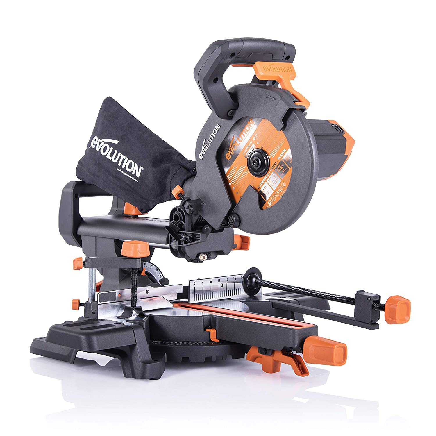 INGLETADORA TELESCOPICA- Evolution Power Tools R210SMS