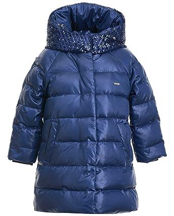 Jahre Kinder Wintermantel Blau KapuzeMittellangLangarm Gulliver Für 7 Daunenmantel MantelFarbe Mit 2 Mädchen Navy n0OkPw