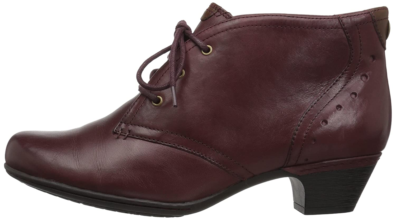 Cobb Hill Rockport Women's Aria-Ch Boot B01N9VFU0U 7.5 C/D US|Merlot Leather