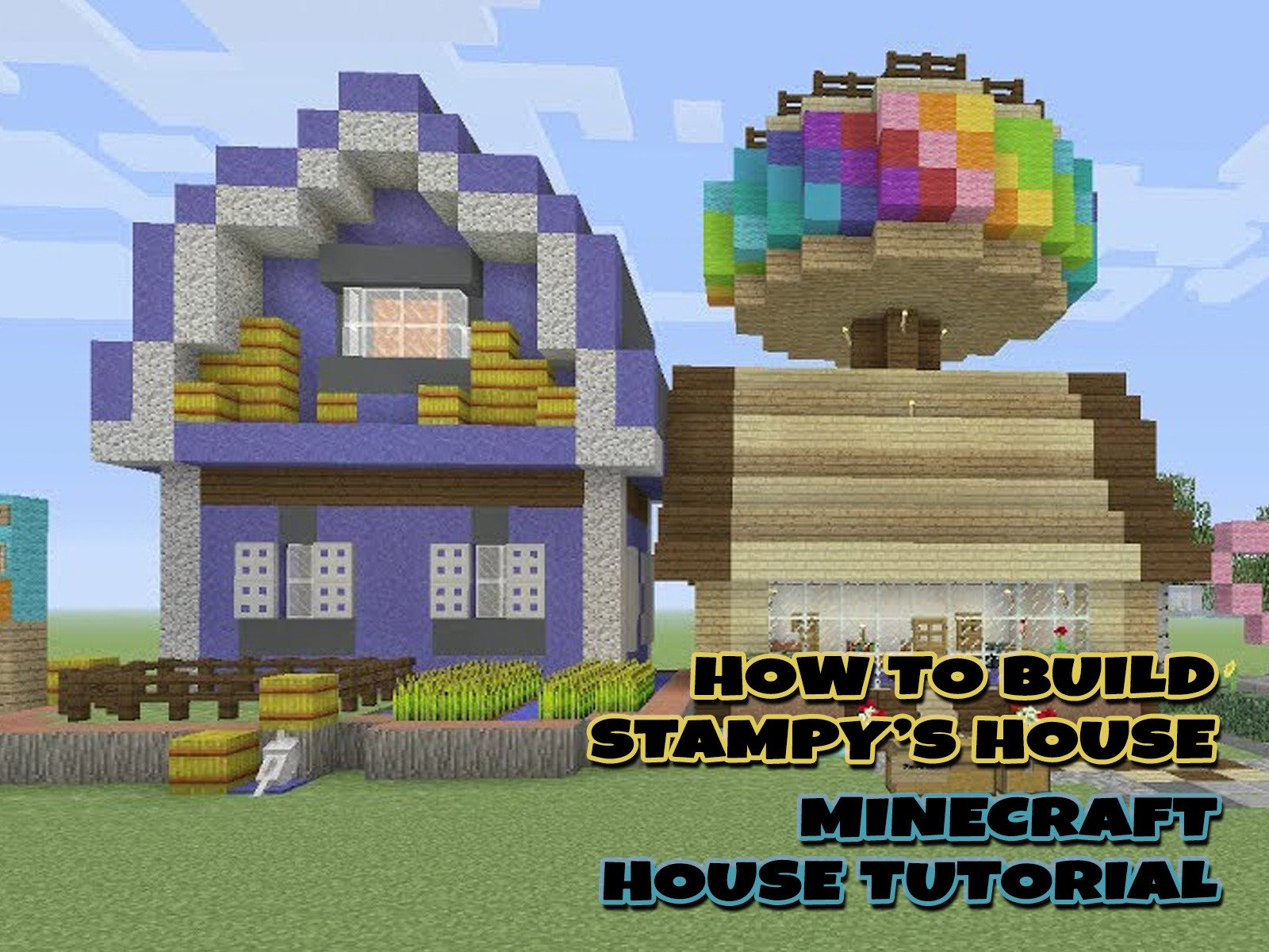 Amazon com watch clip how to build stampys house minecraft house tutorial prime video