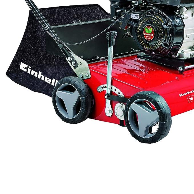 Einhell GC-SC 2240 P - Escarificadora gasolina (2200 W, motor con 4 marchas, desplazamiento del motor: 118cm³, ancho de trabajo: 40cm) (ref. 3420020)
