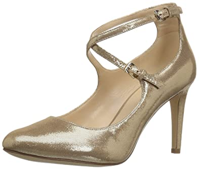 Nine West Hannley Light Gold Metallic Women