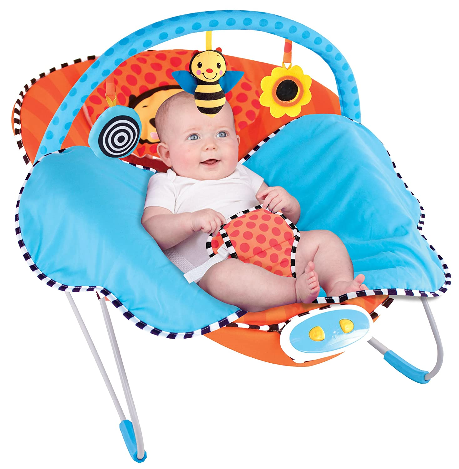 Sassy Cuddle Bug Bouncer, Whimsical Bumble Bee