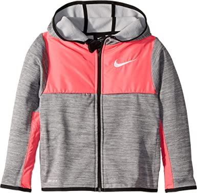 4c9ed0038320 Amazon.com  Nike Kids Boy s Winterized Therma Full Zip Hoodie (Little  Kids)  Clothing