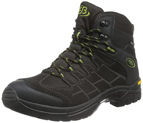 Bruetting - Canada Low, Zapatos de Low Rise Senderismo Hombre, Negro (Anthrazit/Gruen), 36 EU