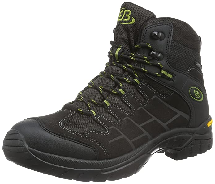 Mens Canada High Rise Hiking Boots, Black Br