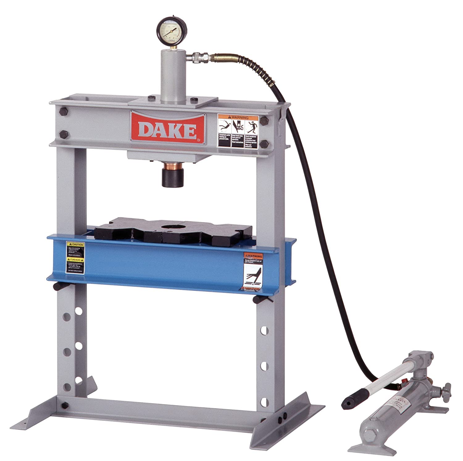 dake b 10 model manual utility hydraulic bench press 10 ton dake b 10 model manual utility hydraulic bench press 10 ton capacity 23 length x 18 width x 36 height drill presses amazon com industrial
