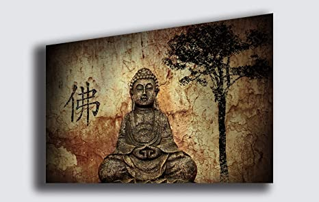 Quadri Moderni Per Ufficio : Quadro moderno buddha zen stampa su tela quadri moderni arte
