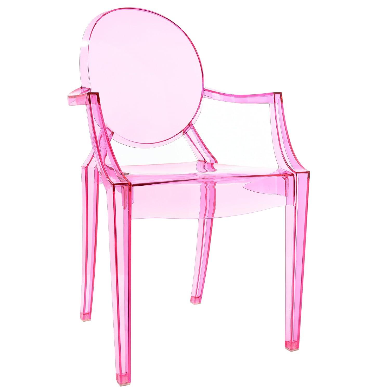Poly and Bark Burton Arm Chair in White Edgemod EM-103-WHI