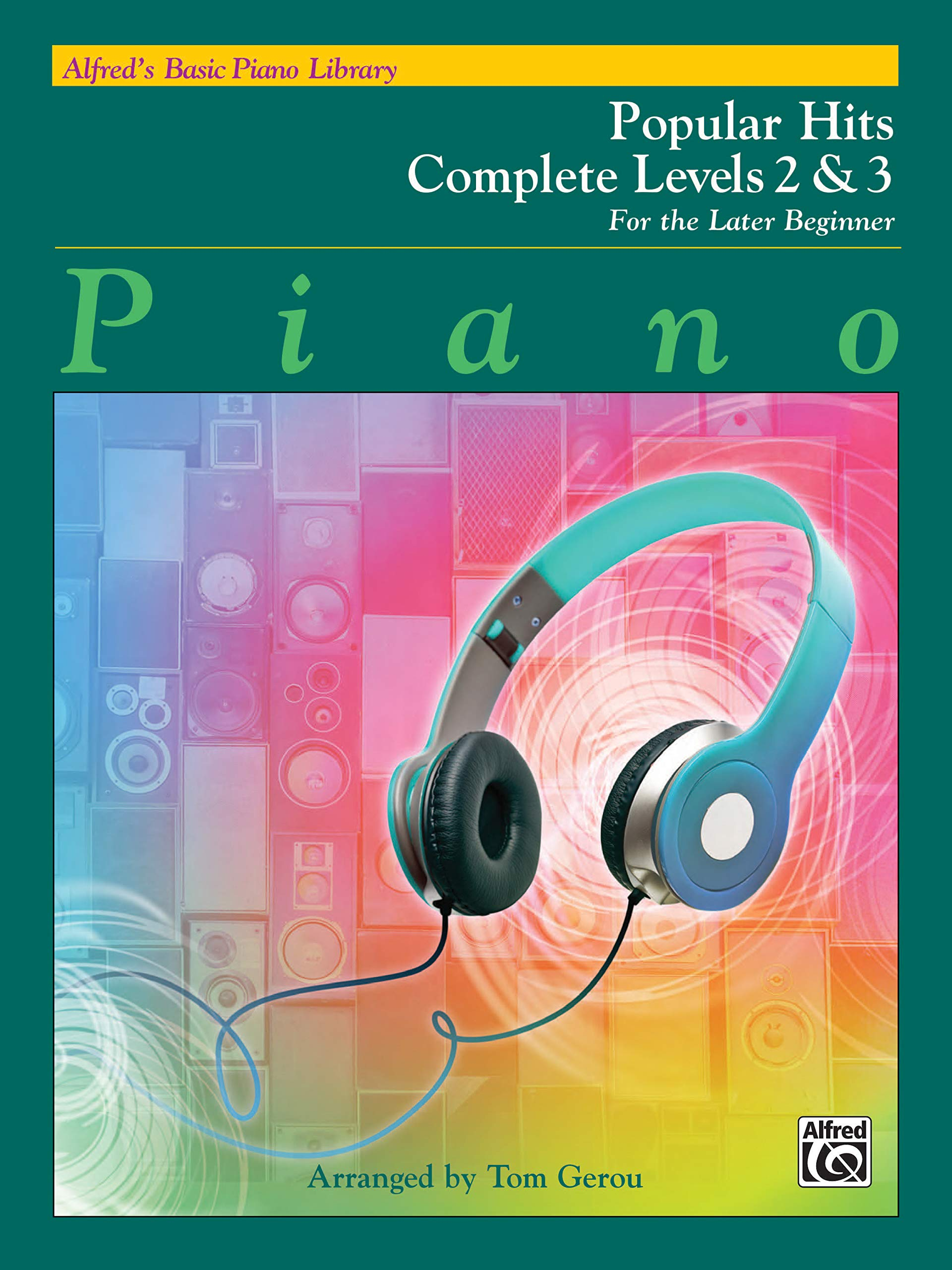 Alfred/'s Basic Piano Library  Popular Hits Complete Level 2 /& 3
