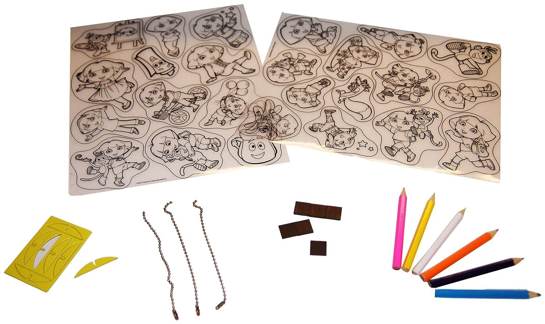 Big Time Time Time Toys Dora Shrinky Dink Creativity Kit e2d30b