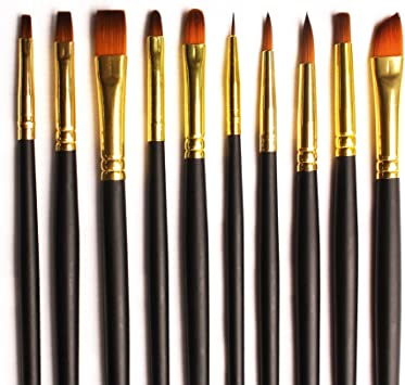 Artist Oil Painting Paint Brushes Cleaning Brush Fiber Bristle Brushes Welcome