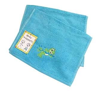 Baby Frottier-Serie mit Pinguin pink Handtücher Waschlappen Gästetücher Frottee
