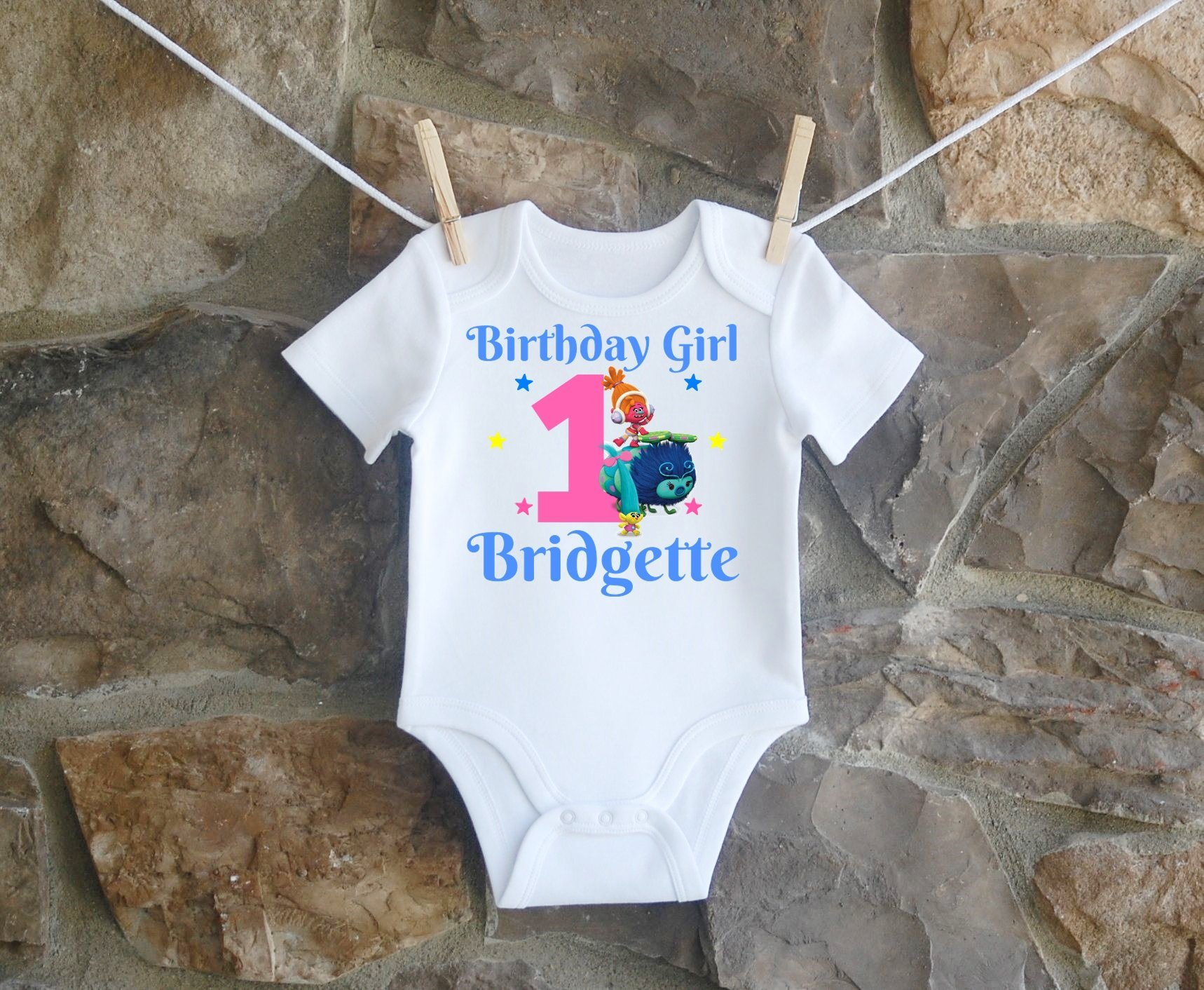 Trolls DJ Smidge Suki Birthday Shirt, Trolls DJ Smidge Suki Birthday Shirt For Girls, Personalized Girls Trolls DJ Smidge Suki Birthday Shirt, Customized Trolls DJ Smidge Suki Birthday Shirt