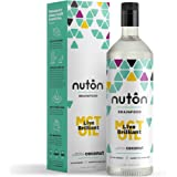 Ultra Premium MCT Oil by Nuton, C8 and C10 only blend from organic coconuts - 33.8oz (1 liter) | Same formula as Bulletproof XTC Oil for Bulletproof Coffee | Keto and Paleo Certified