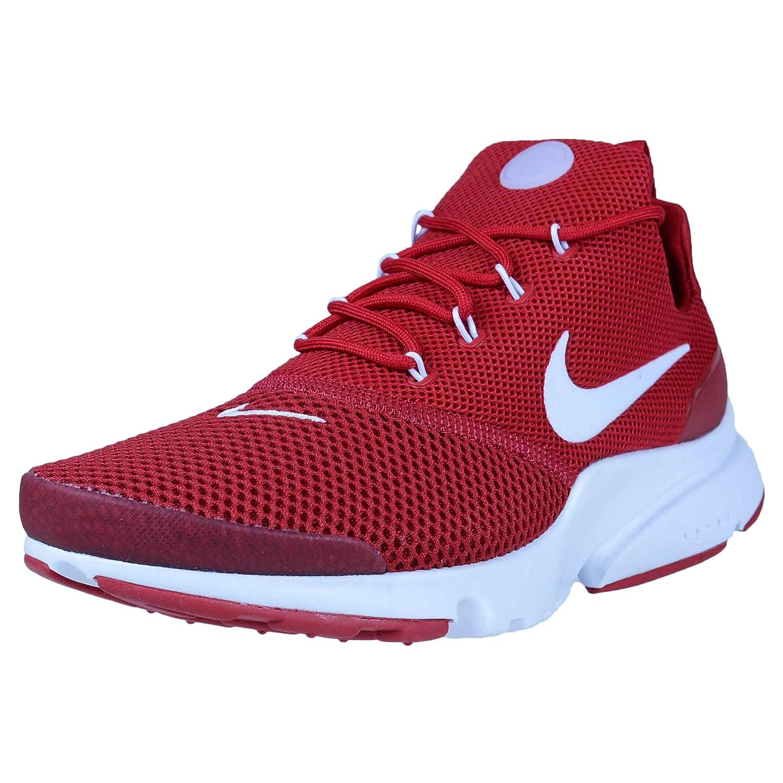 Nike Herren Presto Fly Rot Mesh Sneaker  65 UK|Rot (Gym Red/White)