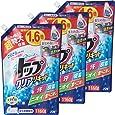 【まとめ買い 大容量】トップ クリアリキッド 洗濯洗剤 詰め替え 1160g×3個