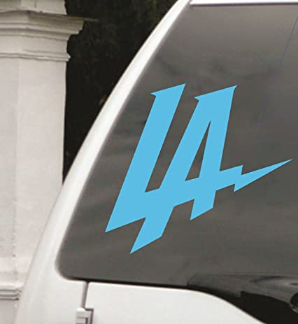 La chargers car decal los angeles football window sticker 6quot