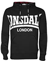 Lonsdale Hoody Whitechapel black